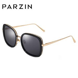 帕森眼镜潮墨镜 TR90偏光镜 复古大框太阳镜 彩框驾驶镜9851