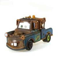 赛车总动员 小汽车 散装闪电麦昆板牙合金玩具小汽车模型 深棕色 板牙