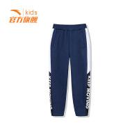 【3折价77.7】安踏童装男童针织长裤儿童运动休闲裤子35848779