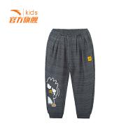【3折价71.7】安踏童装男小童针织长裤儿童运动裤子休闲裤35919753