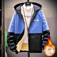 冬季加绒加厚外套男孩衣服大童男装12-15岁13初中学生14冬装夹克