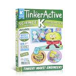 英文原版 幼儿园科学练习册TinkerActive Workbooks: Kindergarten Science儿童