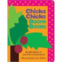 [现货]英文原版 Chicka Chicka Boom Boom 好热闹的字母 名家绘本