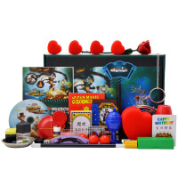 儿童益智玩具表演节日六一儿童节礼物礼品 魔术道具套装大礼盒