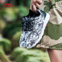 李宁跑步鞋男鞋跑步系列轻便透气休闲鞋晨跑运动鞋ARJL011