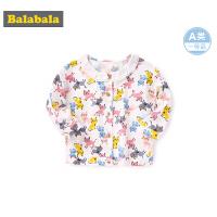 巴拉巴拉婴儿外套宝宝潮装洋气女童衣服2019新款时尚韩版满印上衣