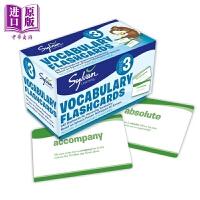 【中商原版】3Rd Grade Vocab Flashcards美国小学提升记忆卡 3年级词汇 儿童亲子家庭英语单词学习