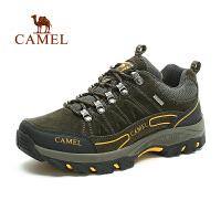 camel骆驼户外男款徒步鞋 秋季新款耐磨低帮徒步鞋