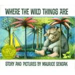 Where The Wild Things Are 野兽国 (1964年凯迪克金奖, 英国版, 精装) ISBN 9780370007724