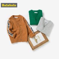 【2件4折价:63.6】巴拉巴拉男童毛衣儿童针织衫2019新款春季童装宝宝毛线衣时尚线衫