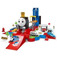 儿童声光托马斯场景变形轨道车小火车男孩玩具合金汽车3-6岁