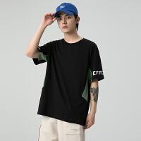 花花公子上衣潮流帅气夏季新款男装韩版短袖T恤