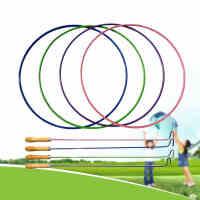 铁环铁圈滚铁环儿童加粗 38厘米实心手推铁环传统户外玩具, 彩色铁环,缤纷色彩。 实心构造,坚固耐摔。