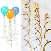 圈圈拉花生日派对节庆装饰气球配饰庆螺旋吊饰挂饰年会布置用品