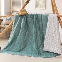 当当优品家纺 新疆棉花夏凉被 可水洗空调被 粉黛(复古绿)150*200