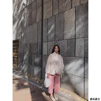 蝴蝶结女短款冬装小棉袄宽松棉衣外套