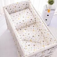 婴儿床上用品套件棉棉床品套件床上用品宝宝婴儿儿童四六七十件套床围床帏被子wk-88