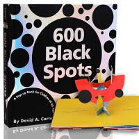 [现货]600 Black Spots: A Pop-up Book for Children of All Ages