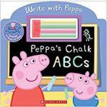 【预订】Peppa's Chalk ABCs 9780545821117