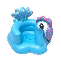 婴儿学坐靠垫 宝宝沙发椅婴儿学坐椅充气小沙发儿童气垫多功能护腰bb宝宝学座椅