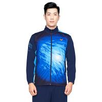 威克多VICTOR J-90601羽毛球服 男女款修身大赛系列针织运动外套