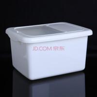 优质塑料大米收纳桶 储米桶 储米箱带盖10KG米桶-白色(A216-2)Y2114