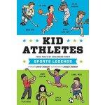 【现货】英文原版 运动员小时候的故事 Kid Athletes ( Kid Legends ) 名人传记 姚明、梅西、