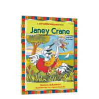 自然拼读一起学:白鹤詹妮(短元音e) Let's Read Together: Janey Crane