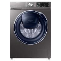 三星(SAMSUNG)10公斤滚筒洗衣机智能变频泡泡净中途添衣安心添技术WW10N64GRPX/SC