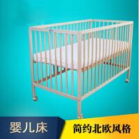 期移动婴儿床实木无漆可调节儿童床好宝宝孩子