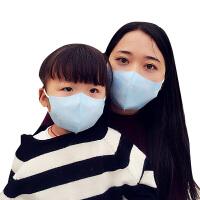 春夏薄款儿童一次性立体口罩活性炭黑防雾霾柳絮PM2.5