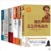 6册傅雷家书苏菲的平凡的世界给青年的十二封信名人传钢铁是怎样炼成的初中生版人民教育出版社八年级下册课外书籍必读名著