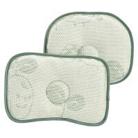 新生婴儿枕头夏季透气定型枕冰丝凉爽吸汗凉席小枕头宝宝凉枕夏天