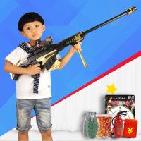 电动连发水弹枪冲锋枪狙击枪儿童男孩玩具枪可发射水晶软子弹枪