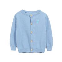 男童针织开衫外套1-3岁儿童毛衫春秋宝宝线衣小童春装