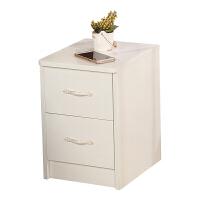新款迷你床头柜简约现代小型小尺寸卧室窄25厘米30cm35白色 组装