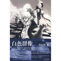 【正版二手书9成新左右】白色群像 肖以默 长江文艺出版社