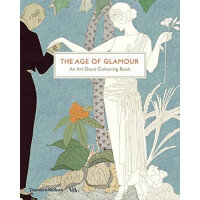 The Age of Glamour: An Art Deco Coloring Book 魅力时代:装饰派艺术填色书