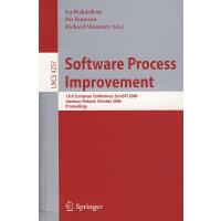 软件工艺改进:EuroSpi 2006/会议录(书与在线文件) oftware process improvement