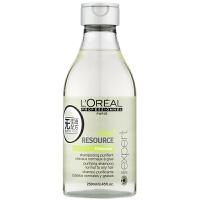 L'OREAL欧莱雅 油脂平衡洗发水250ml 进口专业洗护发 油性发质洗发水 去油控油 头皮清爽