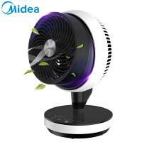 美的电风扇家用台式空气循环扇涡轮对流扇遥控静音机械式GDC18FR