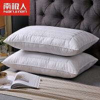 南极人荞麦枕头单人学生宿舍全棉荞麦皮枕芯双人护颈枕一对装家用