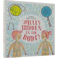 英文原版 What's Hidden In The Body 附三色滤镜 精装 光影魔术书 身体里藏着什么秘密 幼儿S