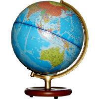 博目地球仪:32cm中、英文对照地形/政区灯光地球仪113201