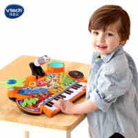VTech伟易达 多功能音乐台 弹唱录音音乐早教益智玩具154518