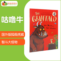 凯迪克 美国进口 斯马尔蒂斯儿童读物金奖:The Gruffalo 咕噜牛【平装】