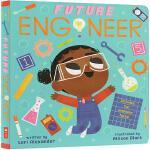 英文原版绘本0 3岁 Future Engineer 纸板书 未来宝宝 事物是怎样运作的 STEM科普绘本 幼儿启蒙益