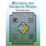 Wizards and Dragons Mazes (【按需印刷】)
