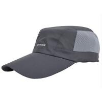帽子男士  棒球帽  韩版女平顶帽   时尚休闲户外太阳帽 运动遮阳帽