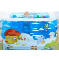 儿童游泳池宝宝海洋球池婴儿游泳池 婴幼儿 充气加厚大号
